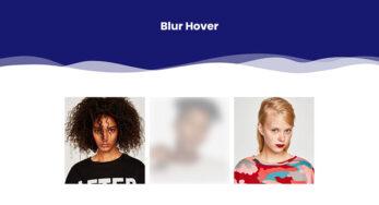 Blur Hover