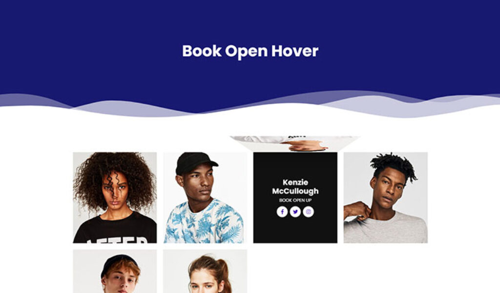 Book Open Hover