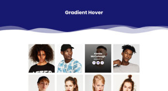 Gradient Hover