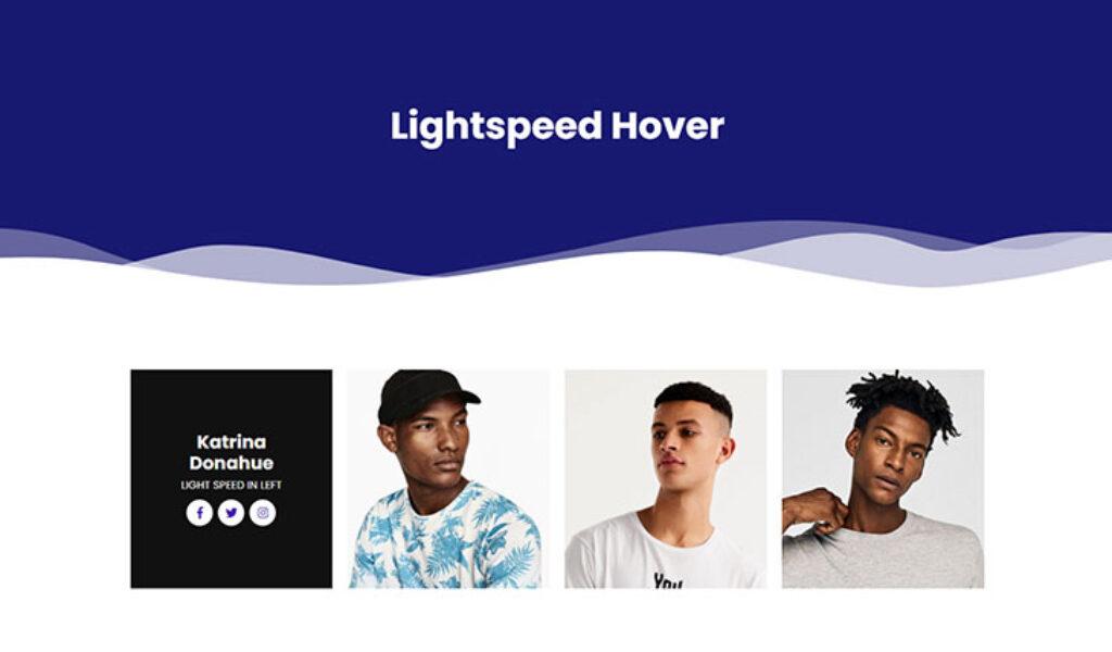 Light Speed Hover