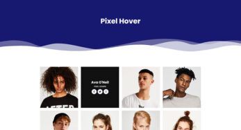 Pixel Hover