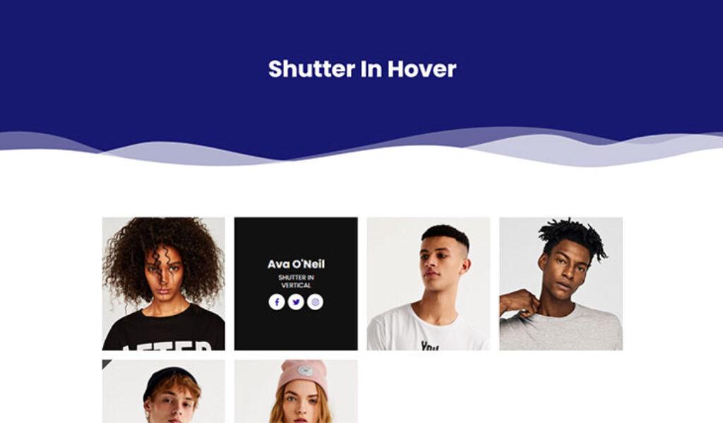 Shutter In Hover